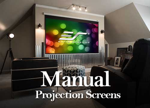Buy Manual Projection Screens